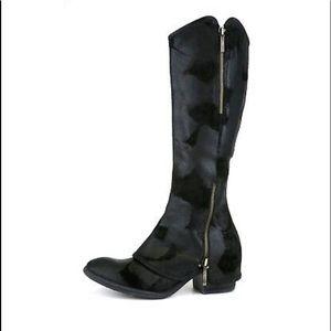 Black suede Boots by Donald J Pliner size 7